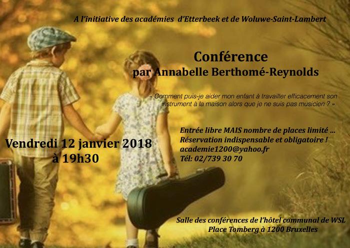 Conférence : aider son enfant à travailler efficacement