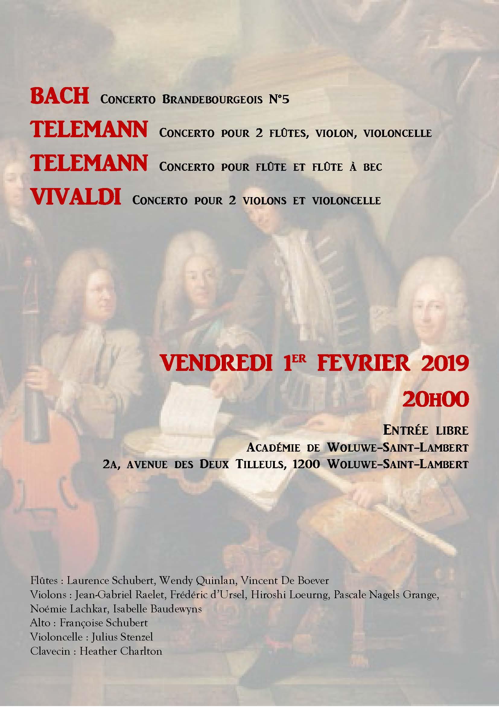 Concert 1er février 2019